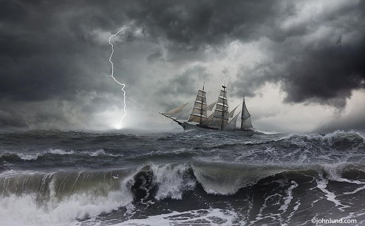 Tall-Ship-In-Storm